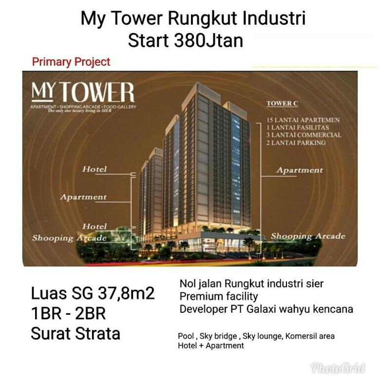 MY TOWER RUNGKUT INDUSTRI start 380jt an