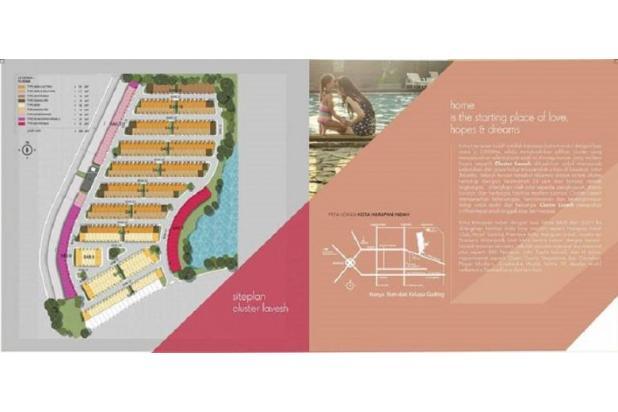 Rumah Baru Cluster Lavesh di Kota Harapan Indah,Bekasi 13426323