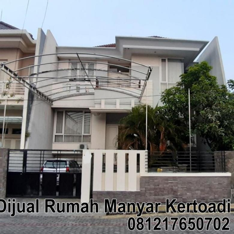 Rumah Dijual Manyar Kertoadi Minimalis semi split level (75b)