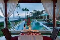 Dijual Villa dengan view pantai yang indah berlokasi di Ketewel