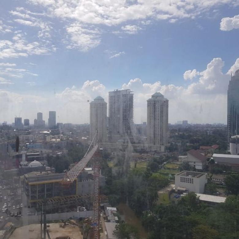 Dijual Apartemen Sudirman Suite 3 BR (96 sqm) View Sudirman
