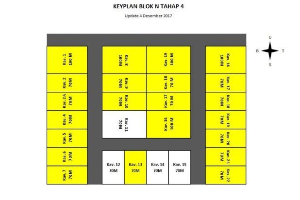 Rumah kavling type 45/70 termurah di kawasan nya 15232362