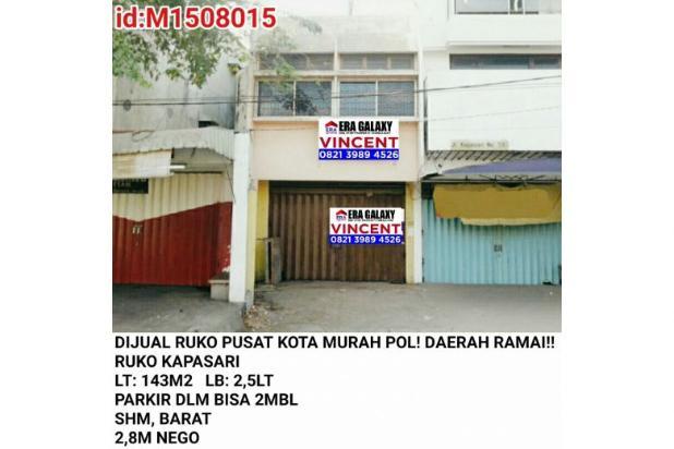 Dijual Ruko Pusat Kota Murah Pol Ruko Kapasari 6155162