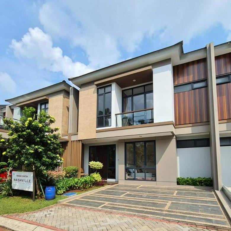 Rumah Mewah 2 Lantai di Kota Wisata 2 Menit ke Toll Gate Cimanggis Cibitung