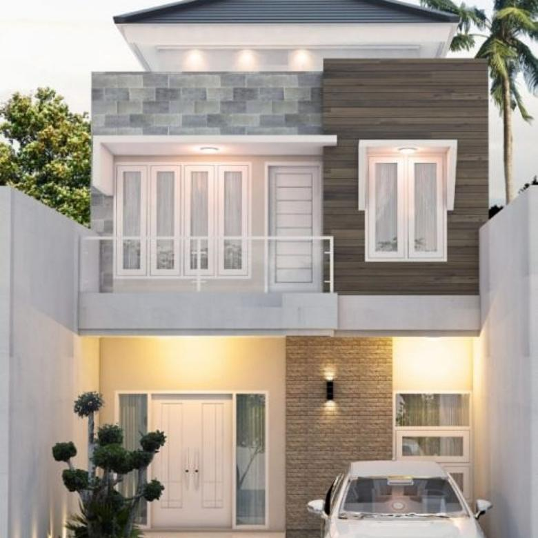 Rumah Minimalis 2 Lantai Di Dekat Transmart Cilandak Jagakarsa Jaksel