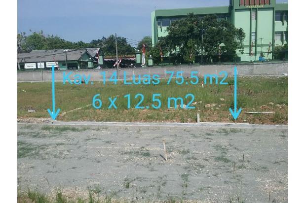 Rp516jt Tanah Dijual