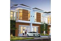 Rumah dalam cluster GJ 2 lantai murah di cipayung munjul