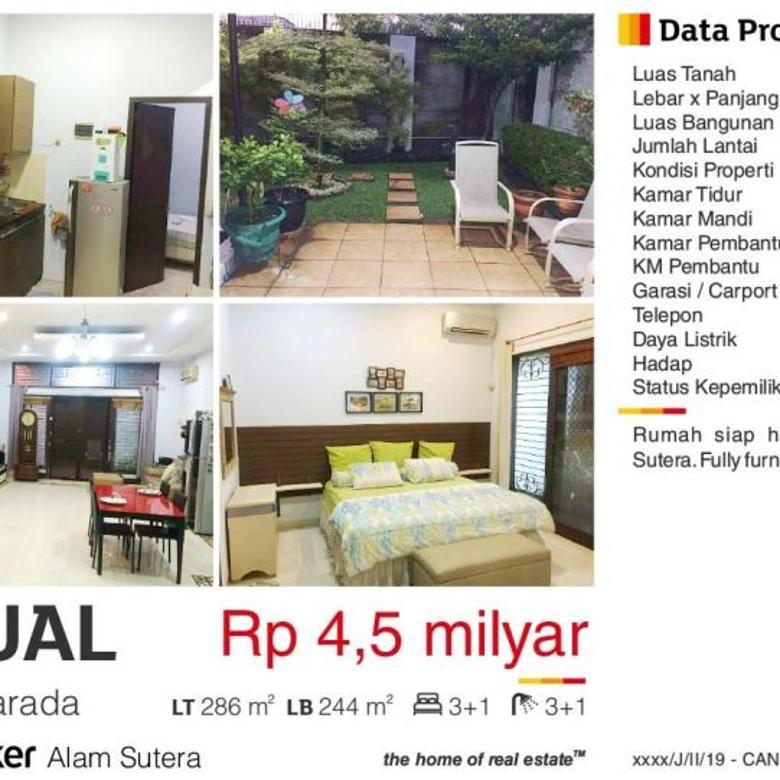 Dijual Rumah di Cluster Narada