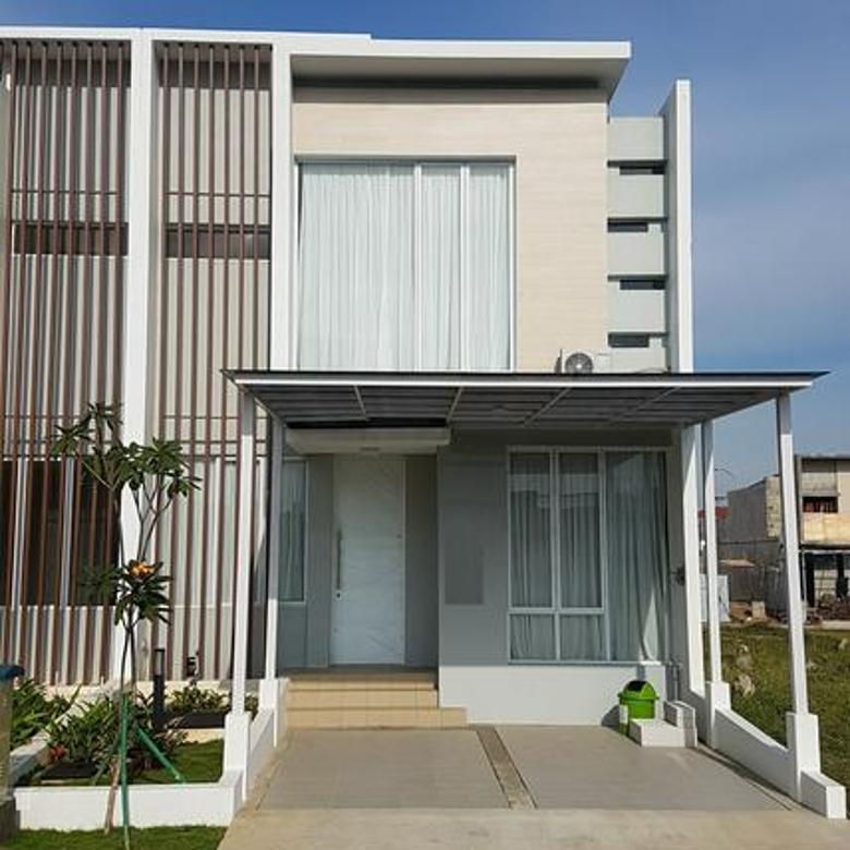Rumah 2lt siap huni 7x15 105m2 Type 3KT di Cluster Yarra JGC Jakarta Garden City Cakung