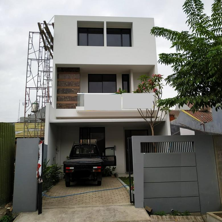 Rumah Bulu Jaya Surabaya Desain Epik Ciamik Nego