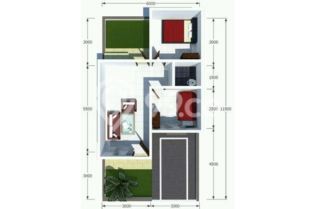 Virall Rumah Termurah Type 45 120jt: Rumah cantic bandung 23021056