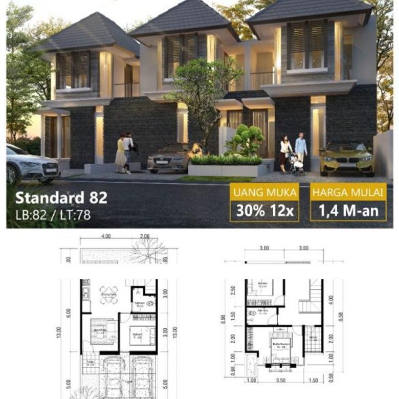Rumah New Gress Minimalis Modern Style di Rungkut Asri Timur