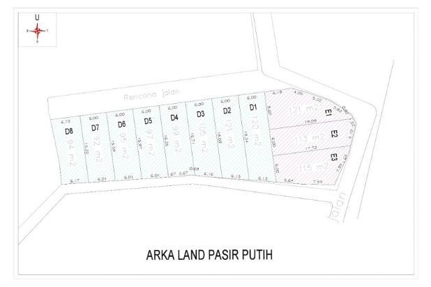 Tanah Kapling di Depok 100-an Meter Sertifikat SHM 16510115