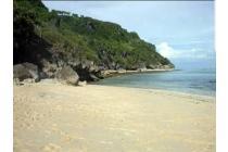 Tanah los tebing di pantai ungasan Kuta selatan Bali
