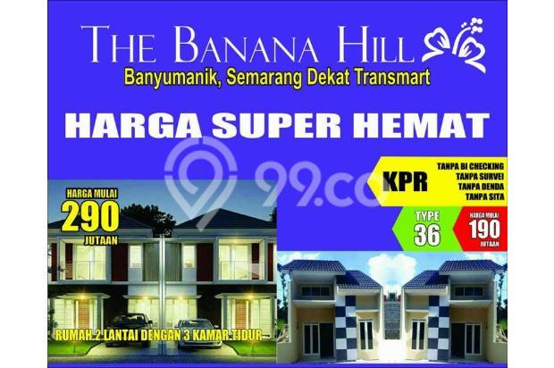 Dijual Rumah 2 Lt di Banana Hill Banyumanik Dekat Transmart Harga 290Jutaan 13315649
