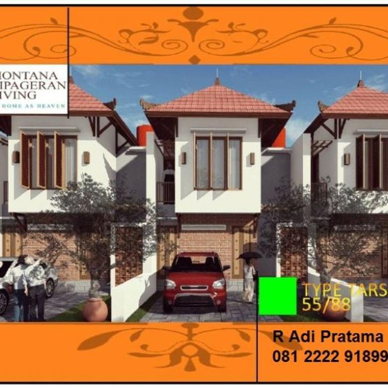 Rumah Baru Model Tropical Bali di Cipageran, 2 Lantai 700jtan