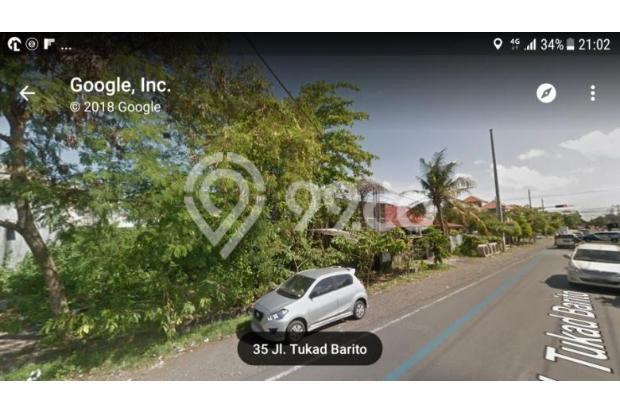 Disewakan Tanah Jalan Utama Tukad Barito Denpasar 17995890