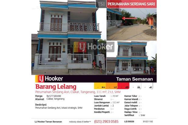 Rp577jt Rumah Dijual