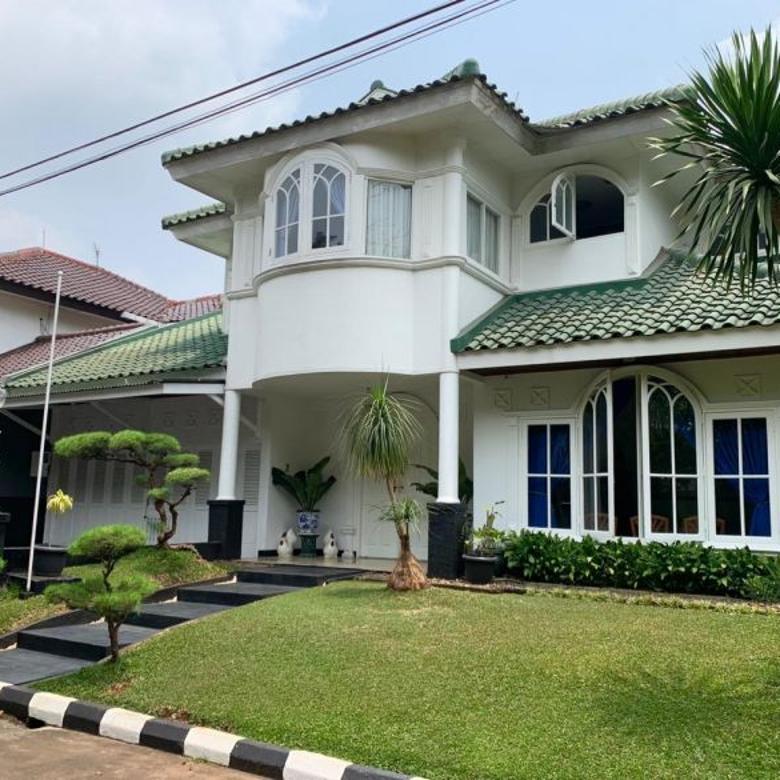 Dijual Rumah Lingkungan Tenang, Asri dan Nyaman di Bintaro Sek