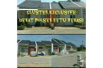 rumah cluster termurah setu bekasi timur