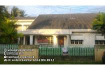 Dijual tanah Plus Rumah Di Jln Yayasan II, Palembang