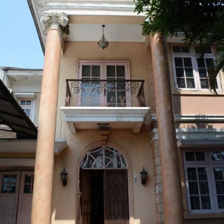 Rumah Luas Banyak Kamar Jalan Raya Banjar Wijaya