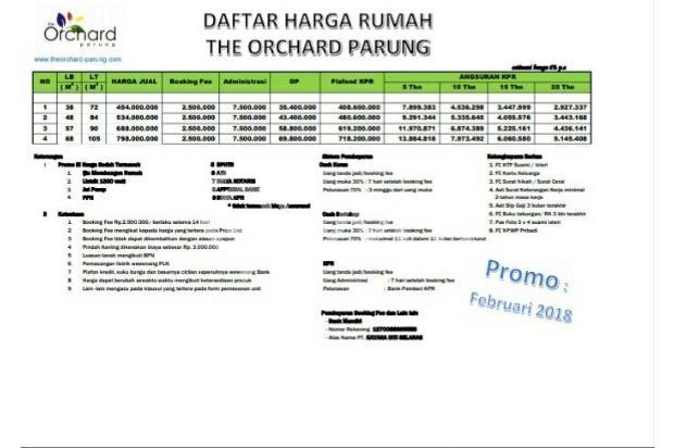 Punya Rumah Di Bogor Jadi Sangat Mudah: KPR DP 0 % 16360581