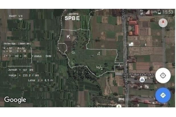 Rp80,7mily Tanah Dijual