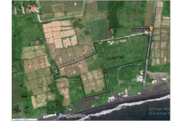 Rp94,4mily Tanah Dijual