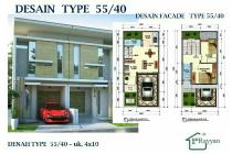 Rumah minimali 2lt Jambangan konsep syariah tanpa bank
