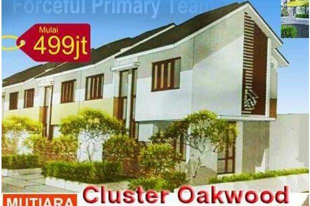 Rumah Baru 2 Lantai Cluster Oakwood di Mutiara Gading CIty Bekasi DP Mulai 14318772