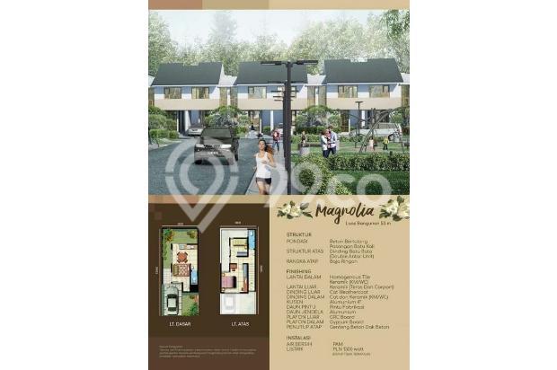 Rumah Baru 2 Lantai Cluster Oakwood di Mutiara Gading CIty Bekasi DP Mulai 14318786