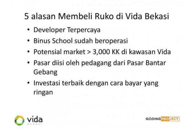 Pasar Anyar Vida Bekasi Pasti untung Lokasi Strategis 16508914