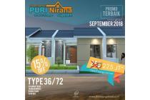 Dijual Rumah Cluster Syariah di Puri Nirana Cigelam, Purwakarta