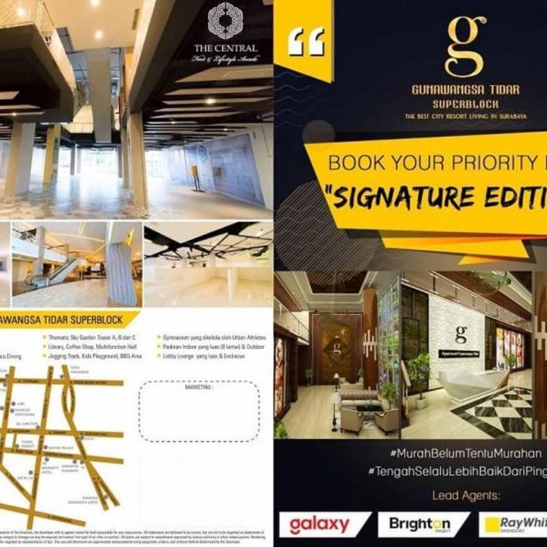 GUNAWANGSA TIDAR SUPERBLOCK The Best City Resort Living In Surabaya
