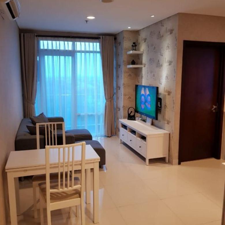 Dijual Apartemen Brooklyn Alam Sutera Tangerang Kondisi Full Furnished