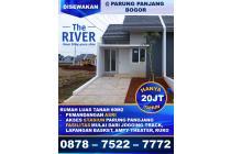 DiSewa Rumah Murah Nyaman BU The River Parung Panjang Bogor akses Stasiun