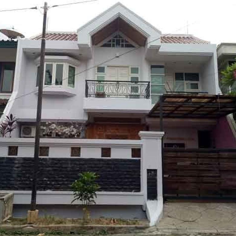 rumah 2 lantai siap huni di villa kelapa dua jakarta barat