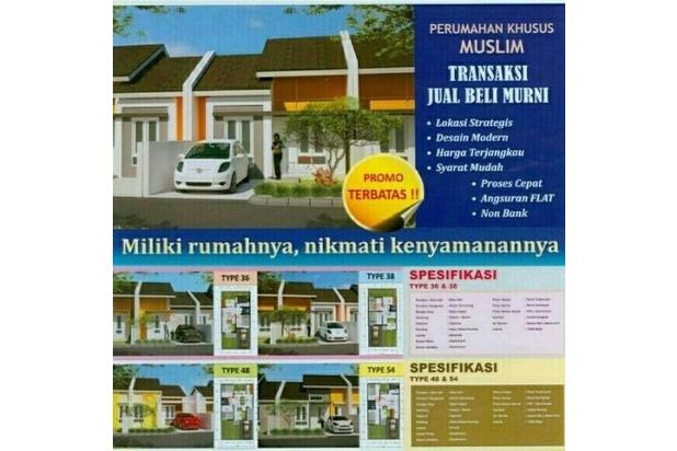 Rumah Syariah Tanpa Bank. DP Rendah, Cicilan 1 Jutaan Per Bulan | AFH 17712083