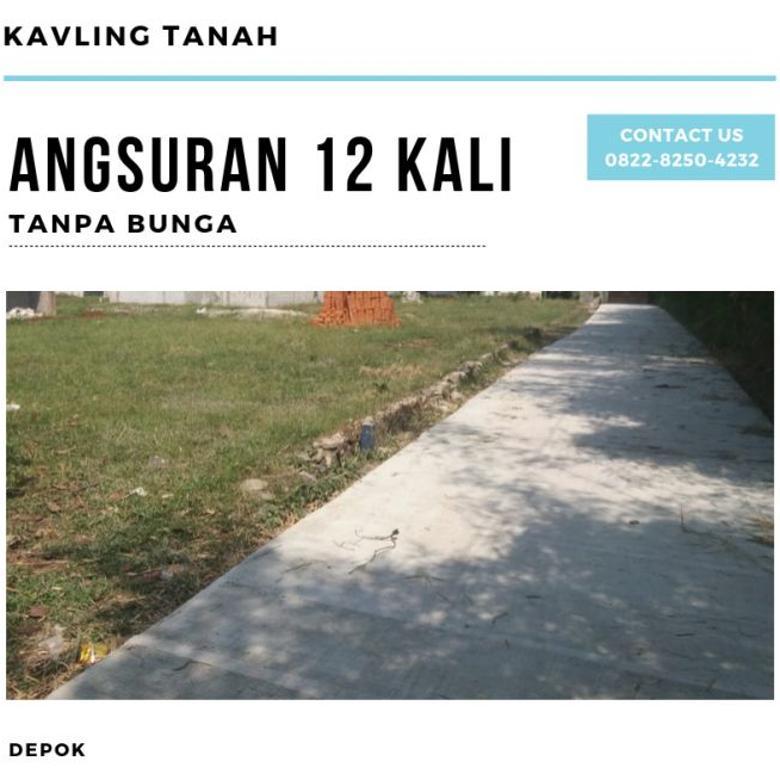 Murah!! Kavling Tanah 100an Meter Dekat ke Jakarta Selatan