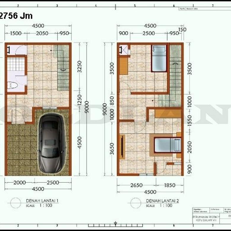 KODE :12756(Jm) Rumah Dijual Kepu, Luas 3,5x9 Meter