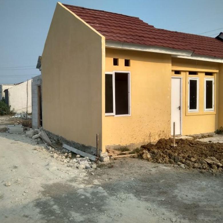 Rumah baru siap dihuni di gabus dijual