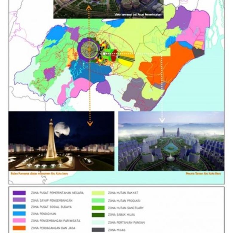 Tanah 2200 Hektar Pinggir Jalan Provinsi Penajam (IKN)