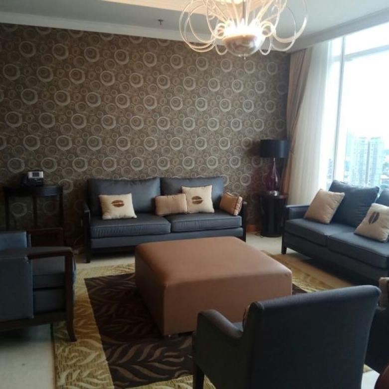 Jual Apartemen Kempinski Grand Indonesia 2BR Furnished Hadap Barat