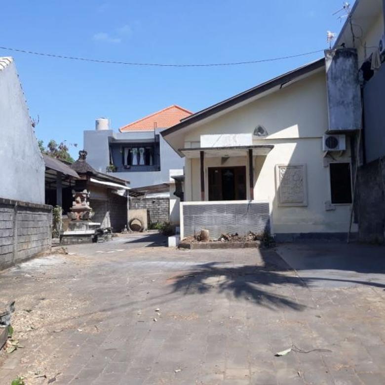 Dijual tanah + Rumah layak huni di Jl. Kusuma dewa, Denpasar