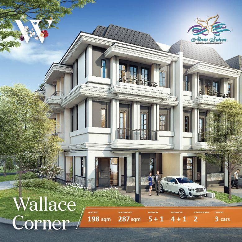 Winona at Alam Sutera, Rumah Mewah 3Lantai berlokasi strategis