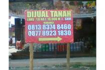 Tanah Strategis di Palembang/Timbangan, Sumatera Selatan