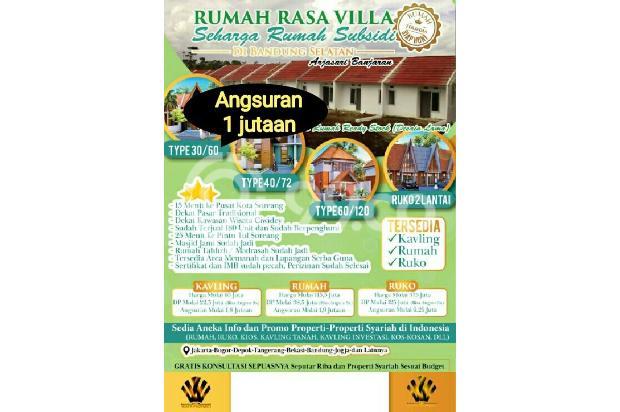MURAH Perumahan Baros City View di Arjasari Bandung Selatan Tanpa Bank 21716224