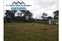 tanah luas di Gunung Sindur Bogor
