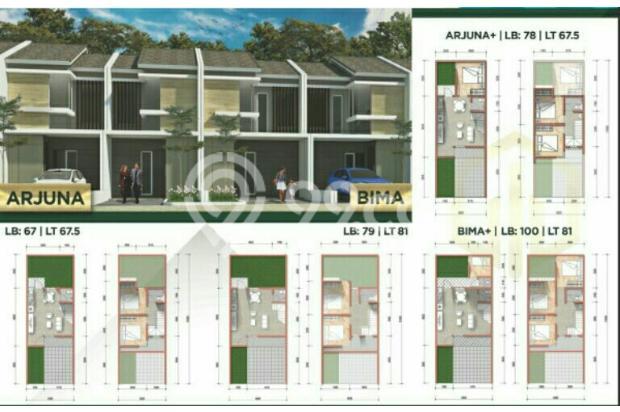 rumah surabaya barat lokasi dekat unesa  harga 900 jutaan 14318866
